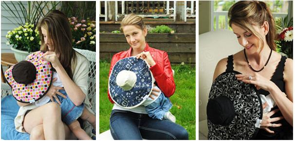 Mobaleez Breastfeeding hats