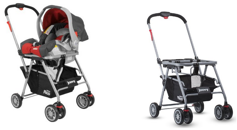 A Stroller Frame Is As It Sounds That Car Seat Snaps Directly Onto Very Convenient For Moving The Baby From To Without