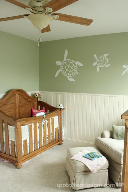 Turtle Nursery Wall Decal